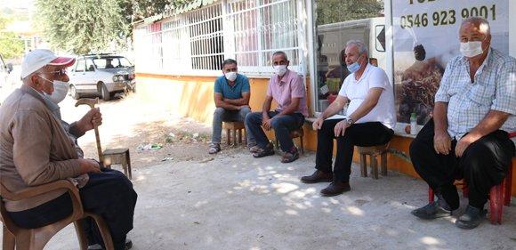 Başkan Özgan'dan esnaf ziyareti