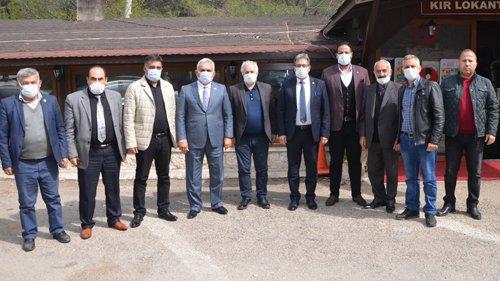 Boyvadaoğlu'ndan Başkan Özgan'a ziyaret