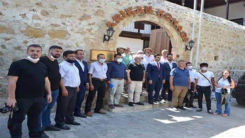 Başkan Özgan Gazeteciler ile bir araya geldi