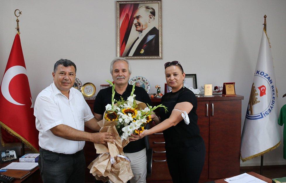 Sendika Başkanlarından Başkan  Özgan'a Ziyaret
