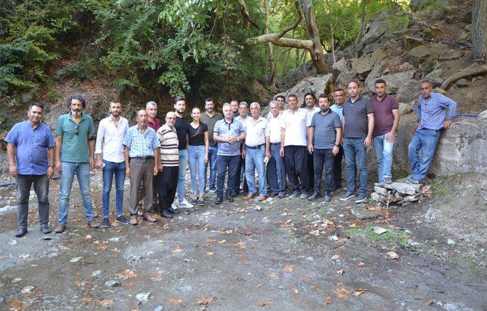 Anıt ağaçlar ve kaynak suyu eko turizme kazandırma çalışmasına başlandı
